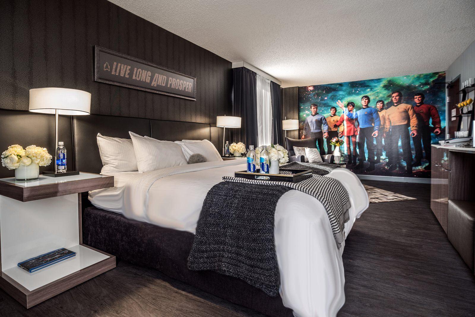 Star Trek room curtis hotel