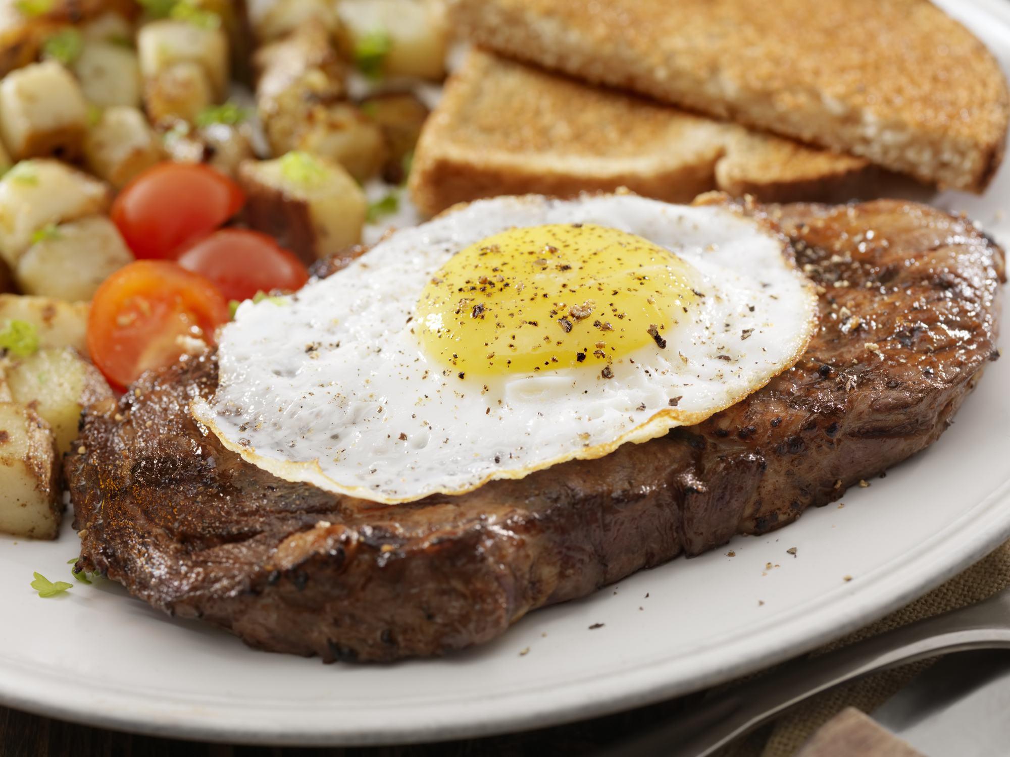 Steak and Egg breakfast