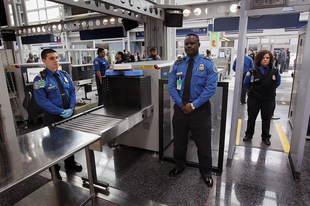 Transportation Security Administration (TSA) officers