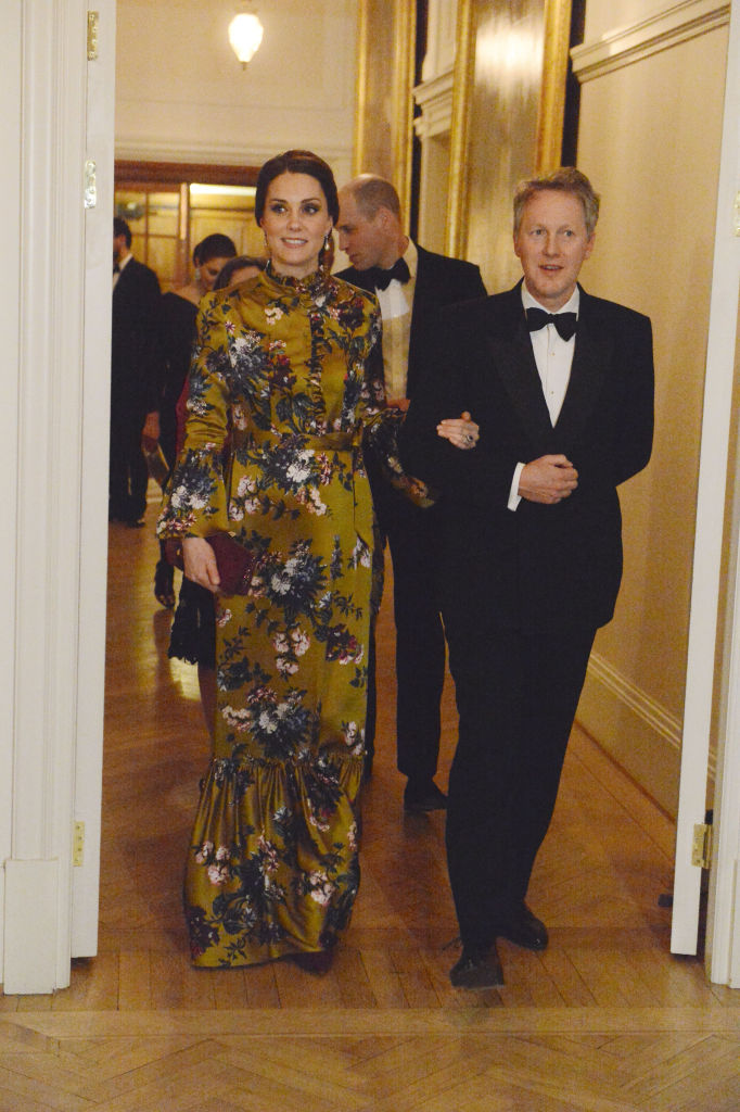Duke and Duchess of Cambridge at a Dinner given by the British Ambassador in Stockholm