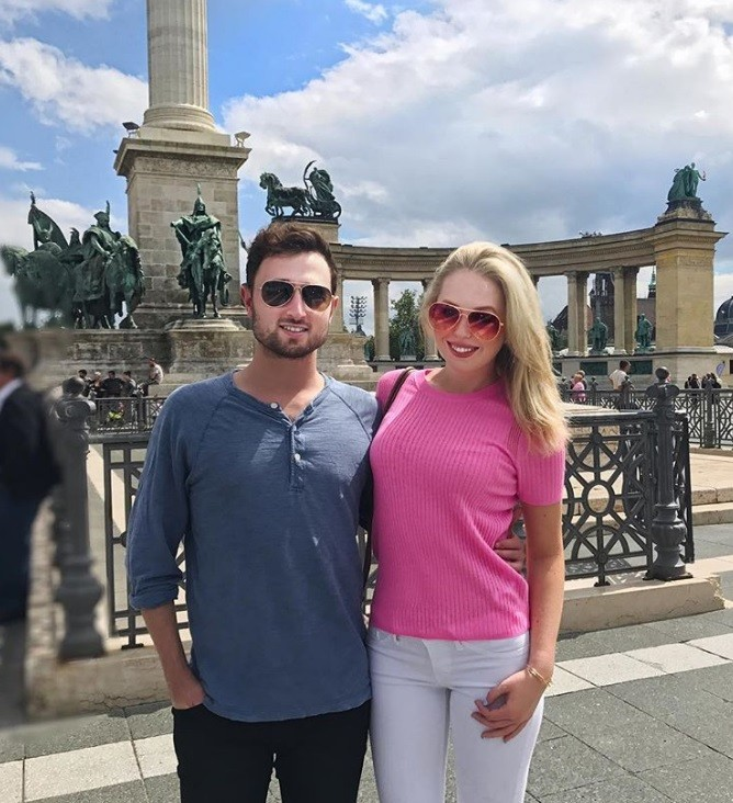 Tiffany Trump and boyfriend in Europe