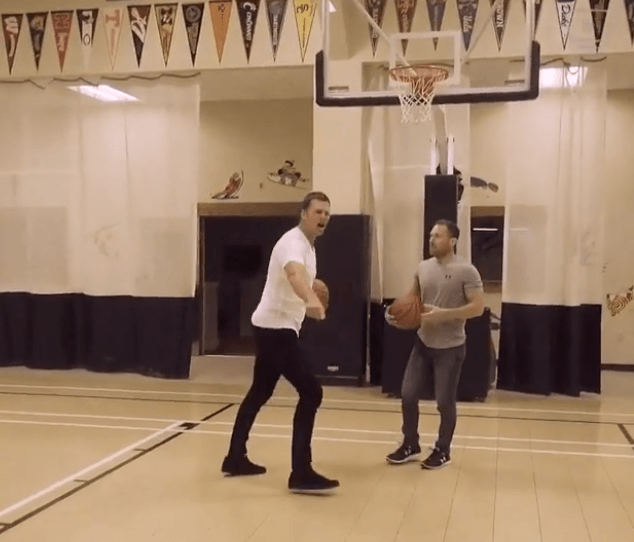 Tom Brady Basketball