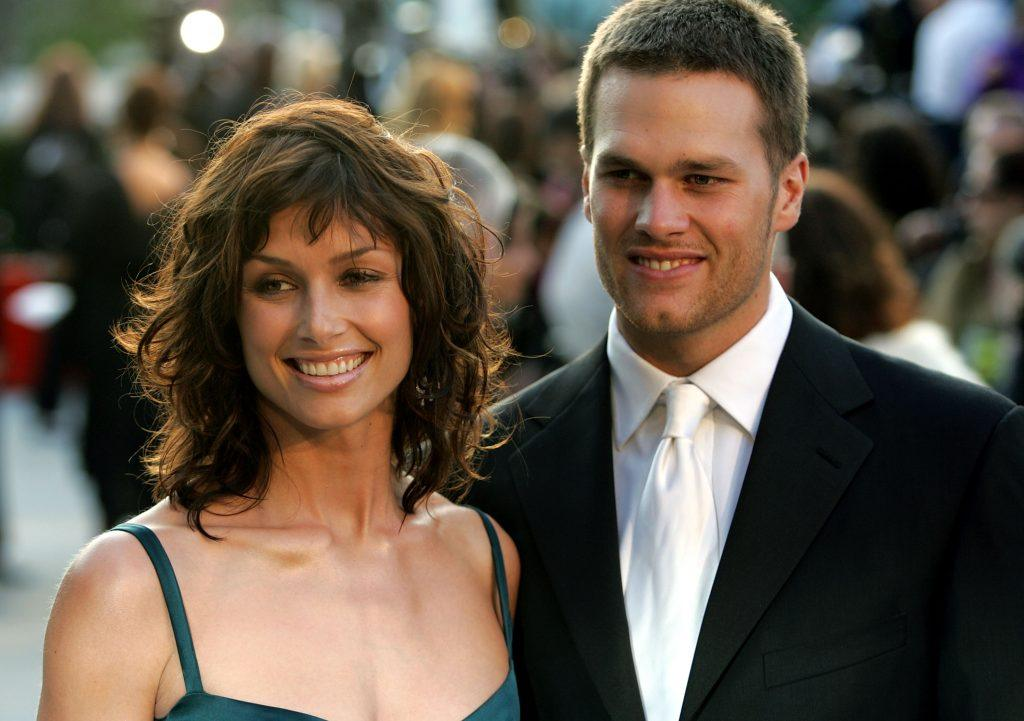 Actress Bridget Moynahan and quarterback Tom Brady