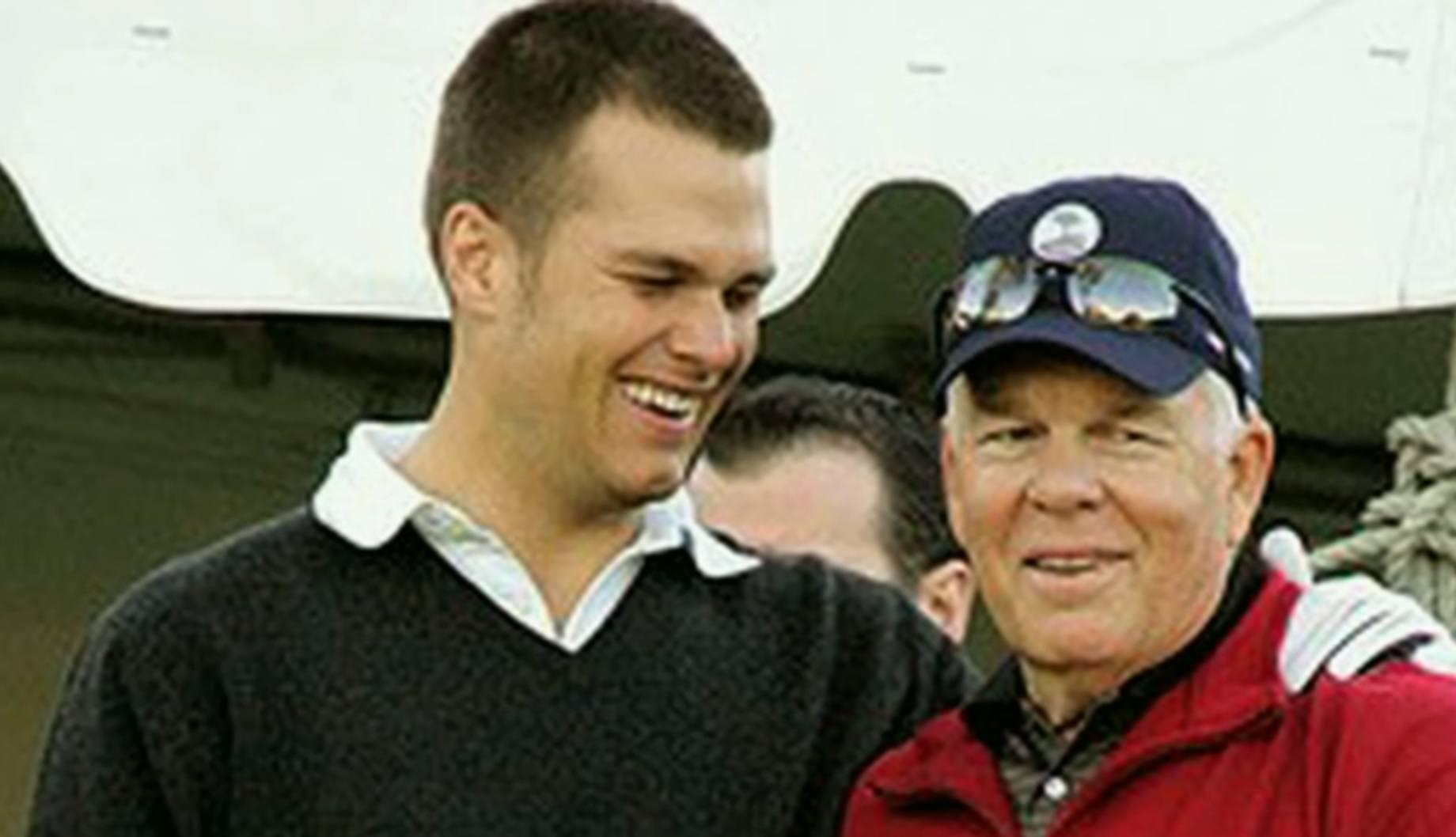 Tom Brady and Father