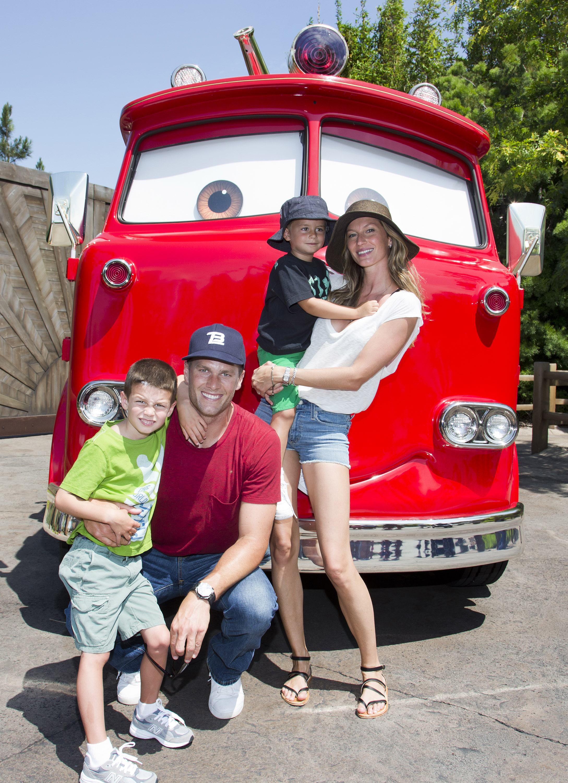 Tom Brady with Family