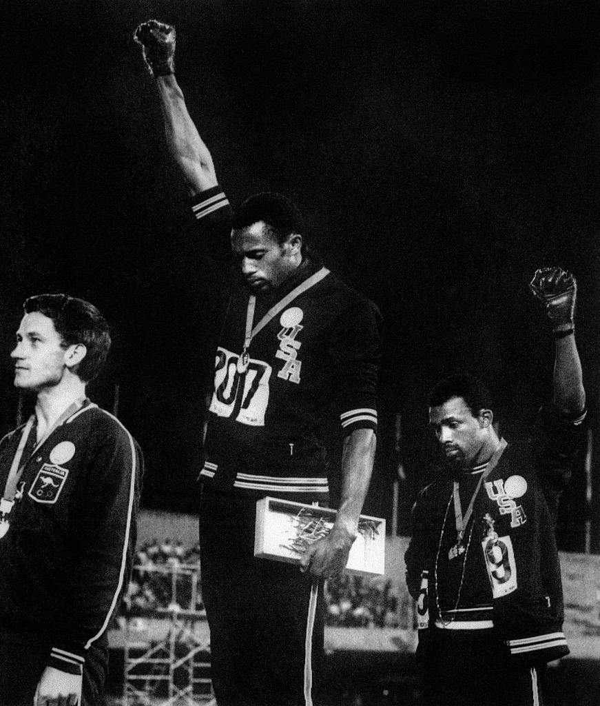 Tommie Smith and John Carlos black power