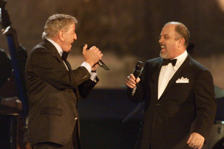 Tony Bennet and Billy Joel