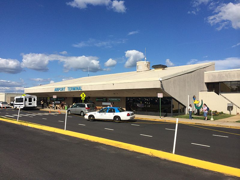 Trenton-Mercer airport Terminal