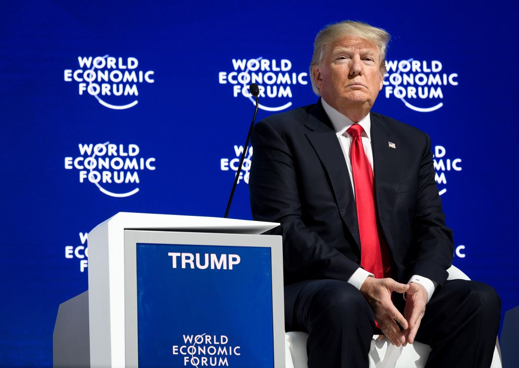 Donald Trump at World Economic Forum