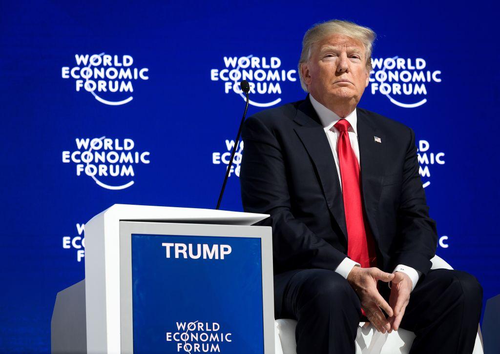 Donald Trump at World Economic Forum