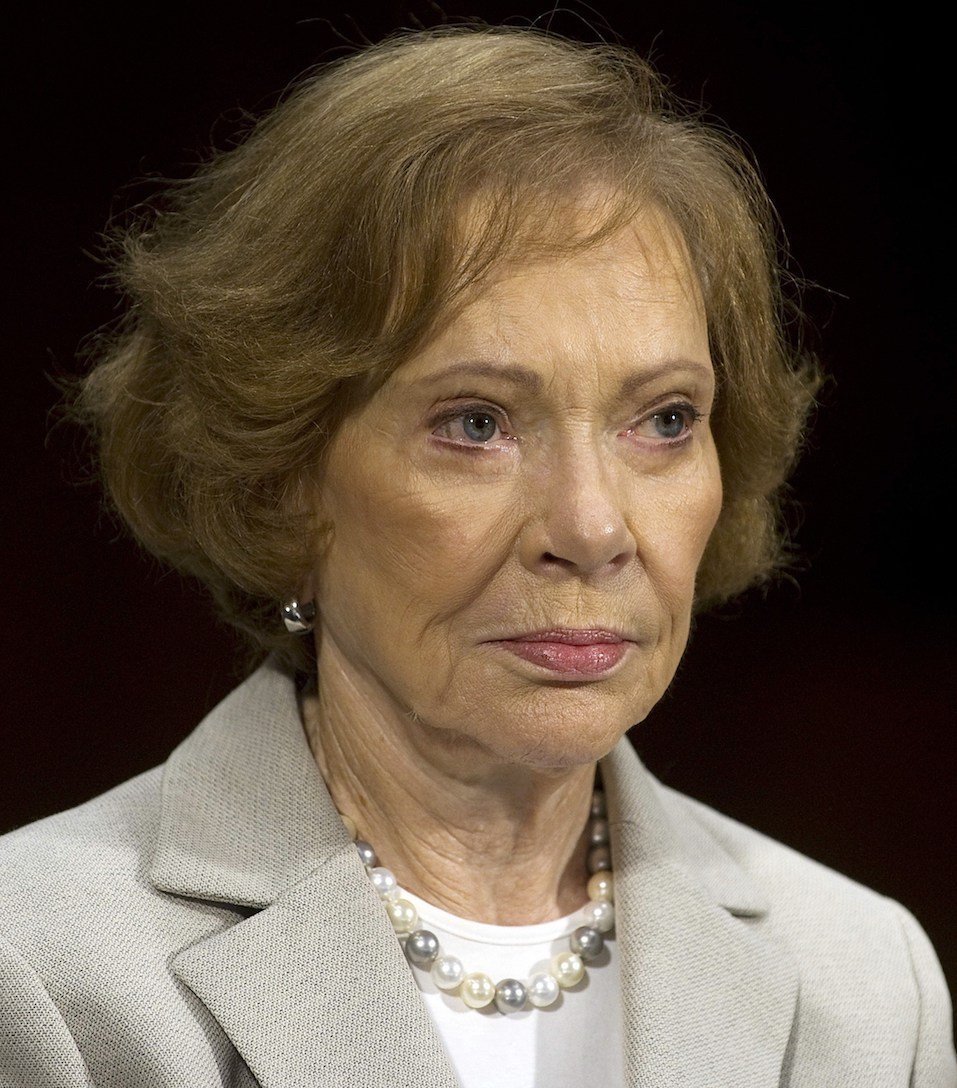 Former US First Lady Rosalynn Carter