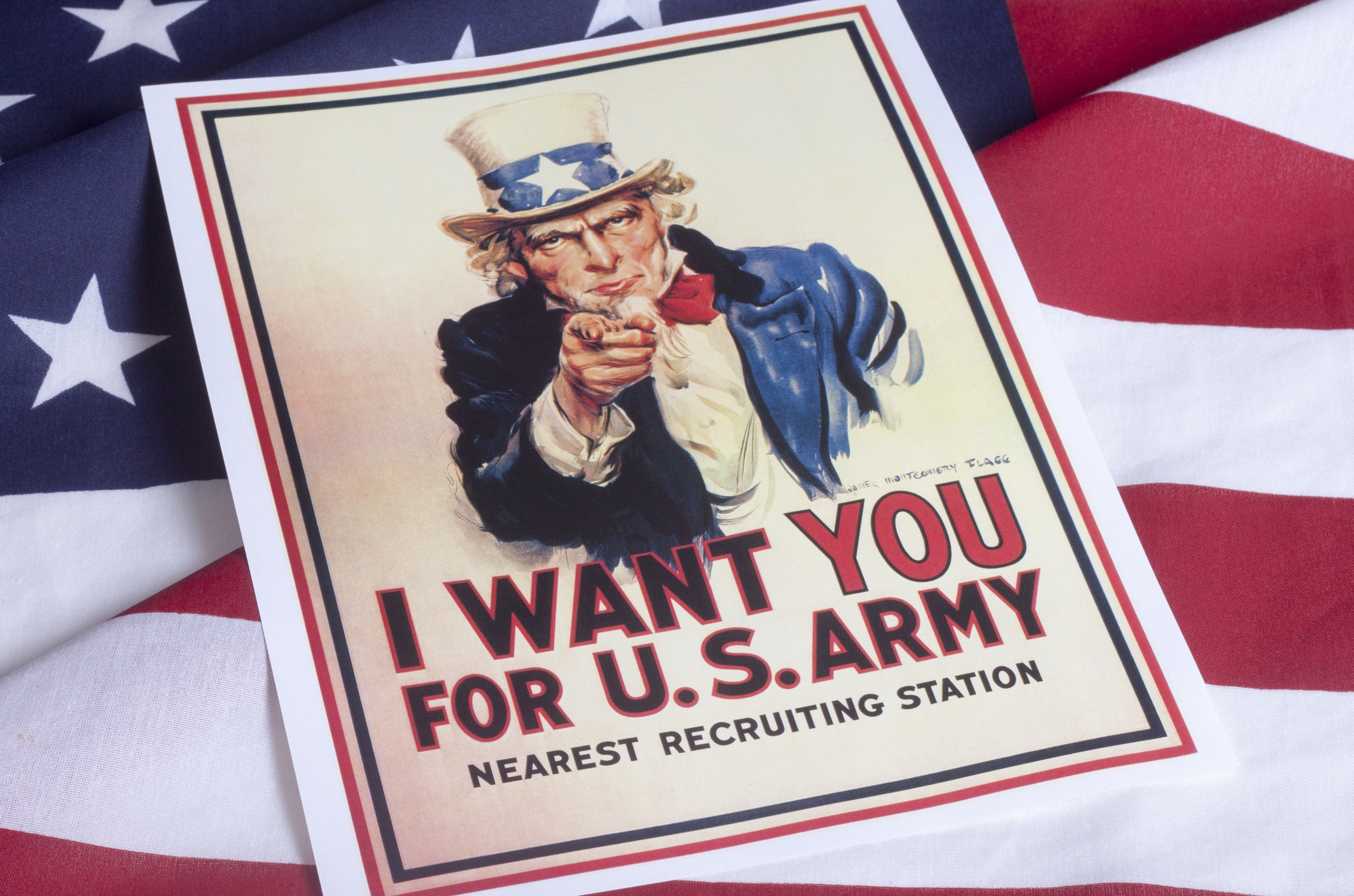 I want you - Uncle Sam