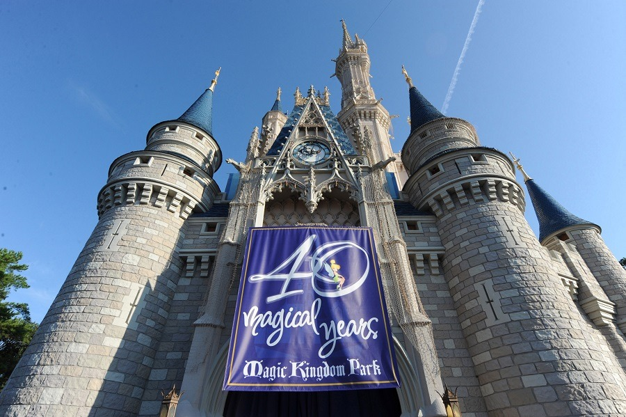 Disney park celebrating 40 years