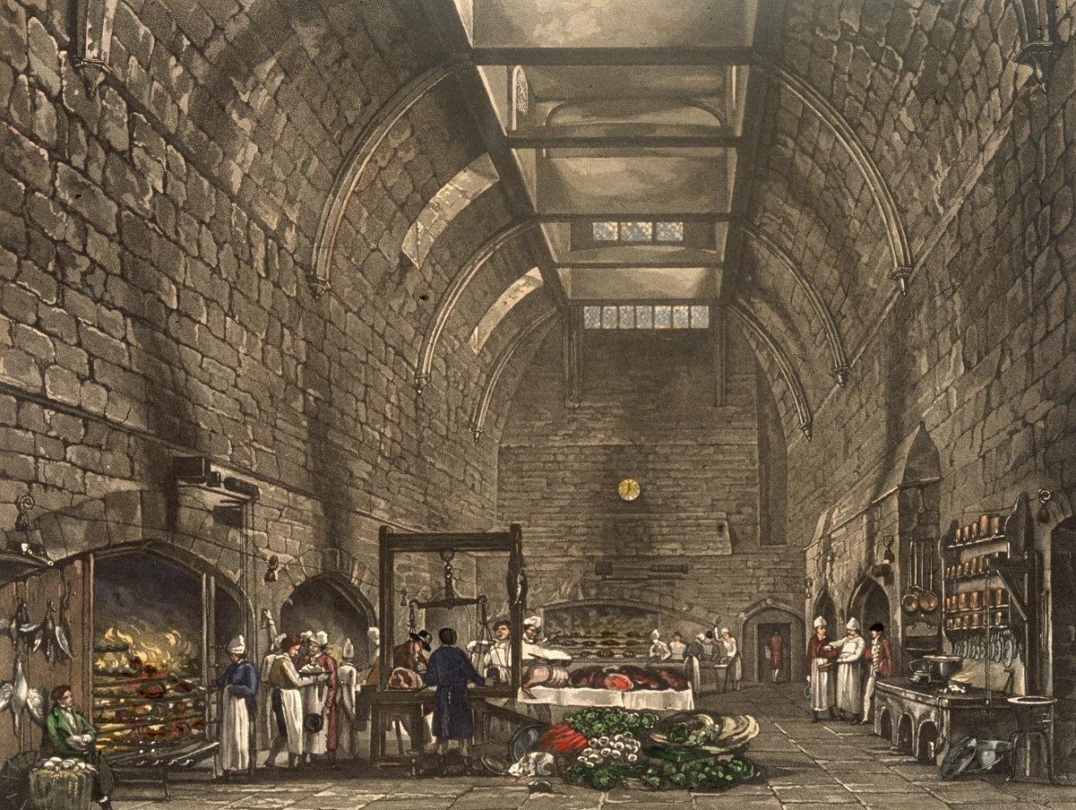Windsor castle Kitchen