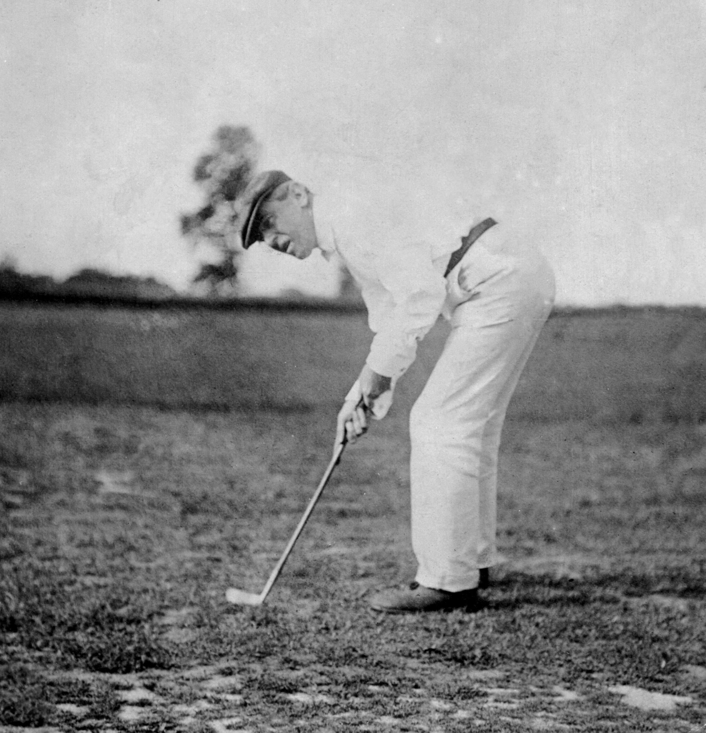 Woodrow Wilson Golfing