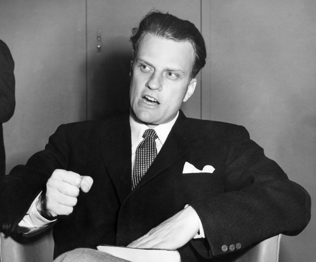 Billy Graham in the 1950s