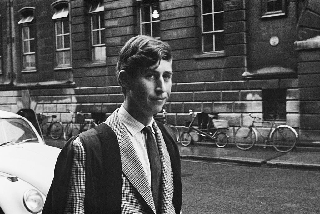 Prince Charles in Cambridge
