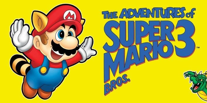 Super Mario Bros. 3 graphic.