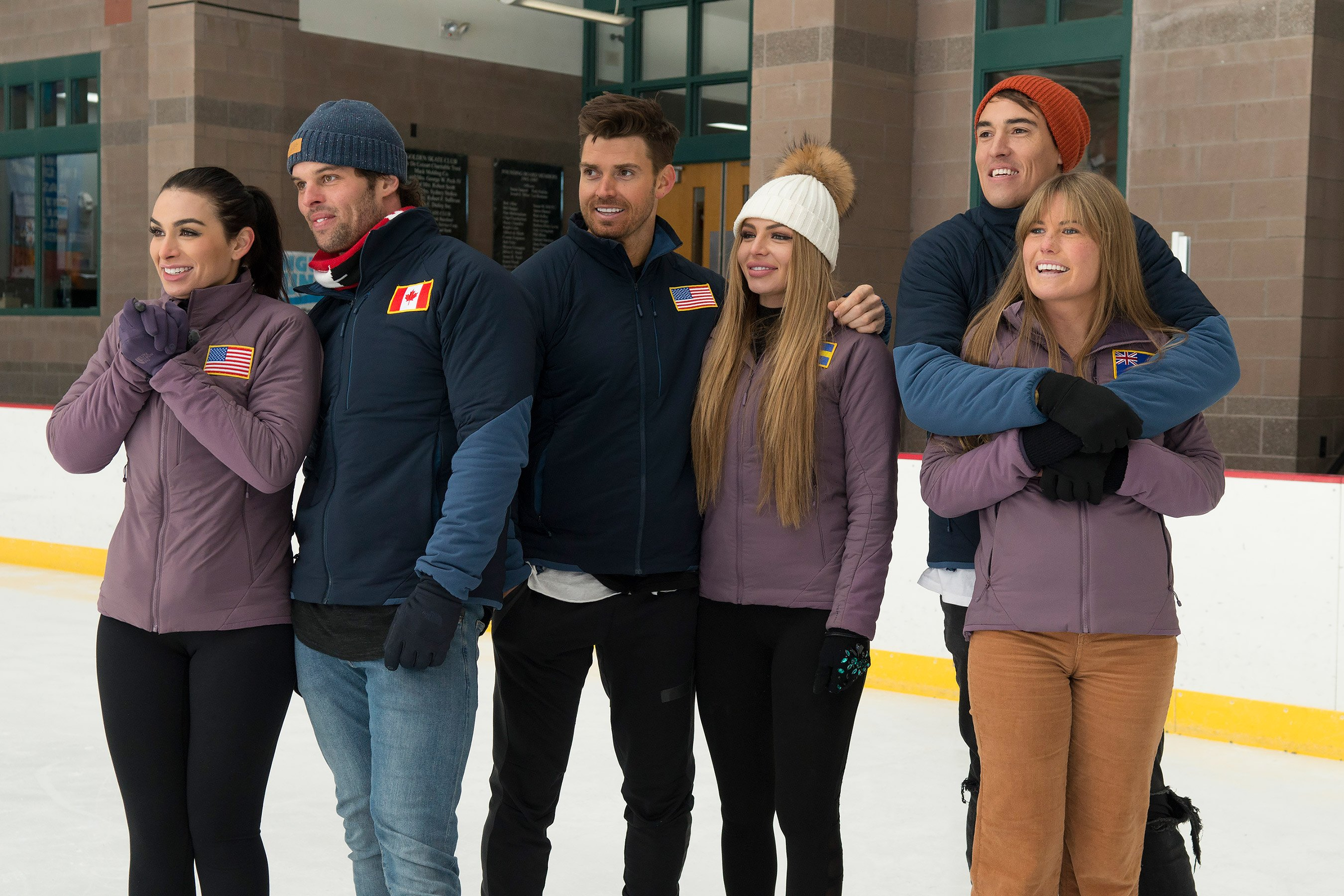 """THE BACHELOR WINTER GAMES - """"Episode 104"""" -It's the final countdown for the remaining couples who will face off in the final event – Couples Ice Dancing. As this journey comes to an end, feelings grow deeper and bonds become stronger on the season finale of """"The Bachelor Winter Games,"""" airing THURSDAY, FEB. 22 (8:00-10:00 p.m. EST), on The ABC Television Network. (ABC/Lorenzo Bevilaqua)"""