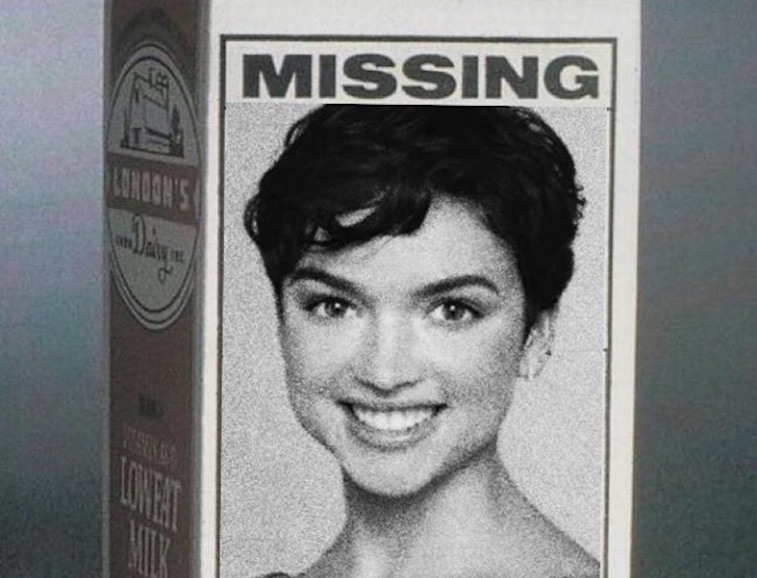 Bekah Martinez missing ad on milk carton