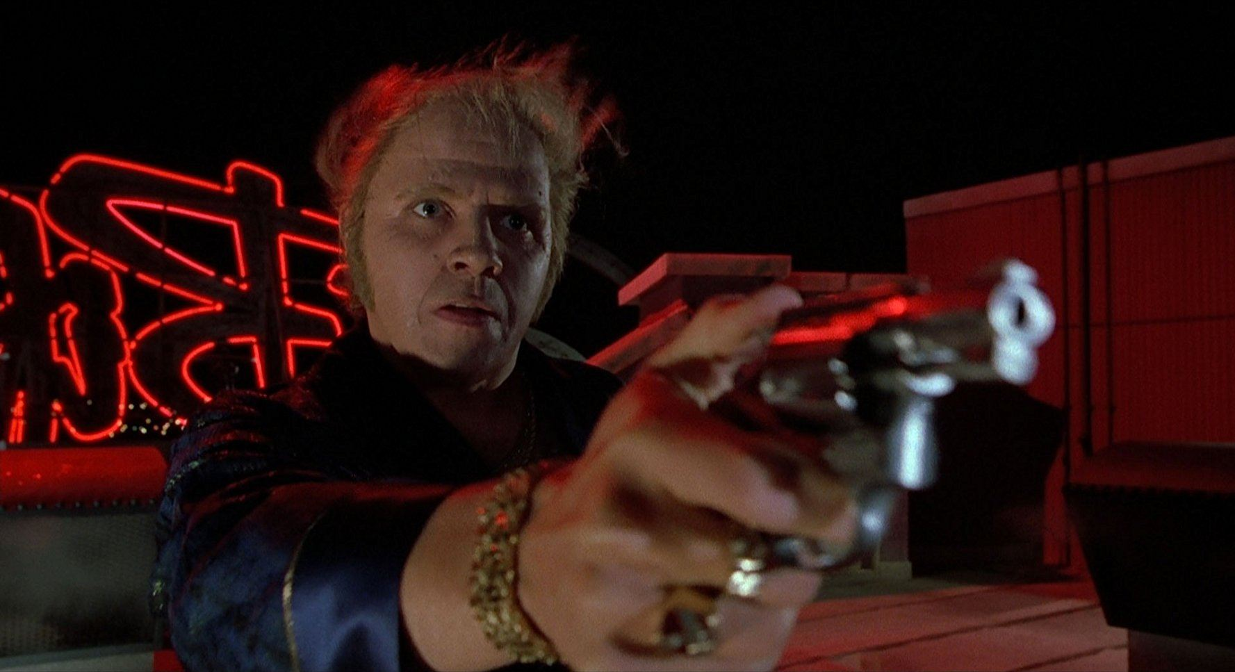 Thomas F. Wilson as Biff Tannen in Back to the Future Part II