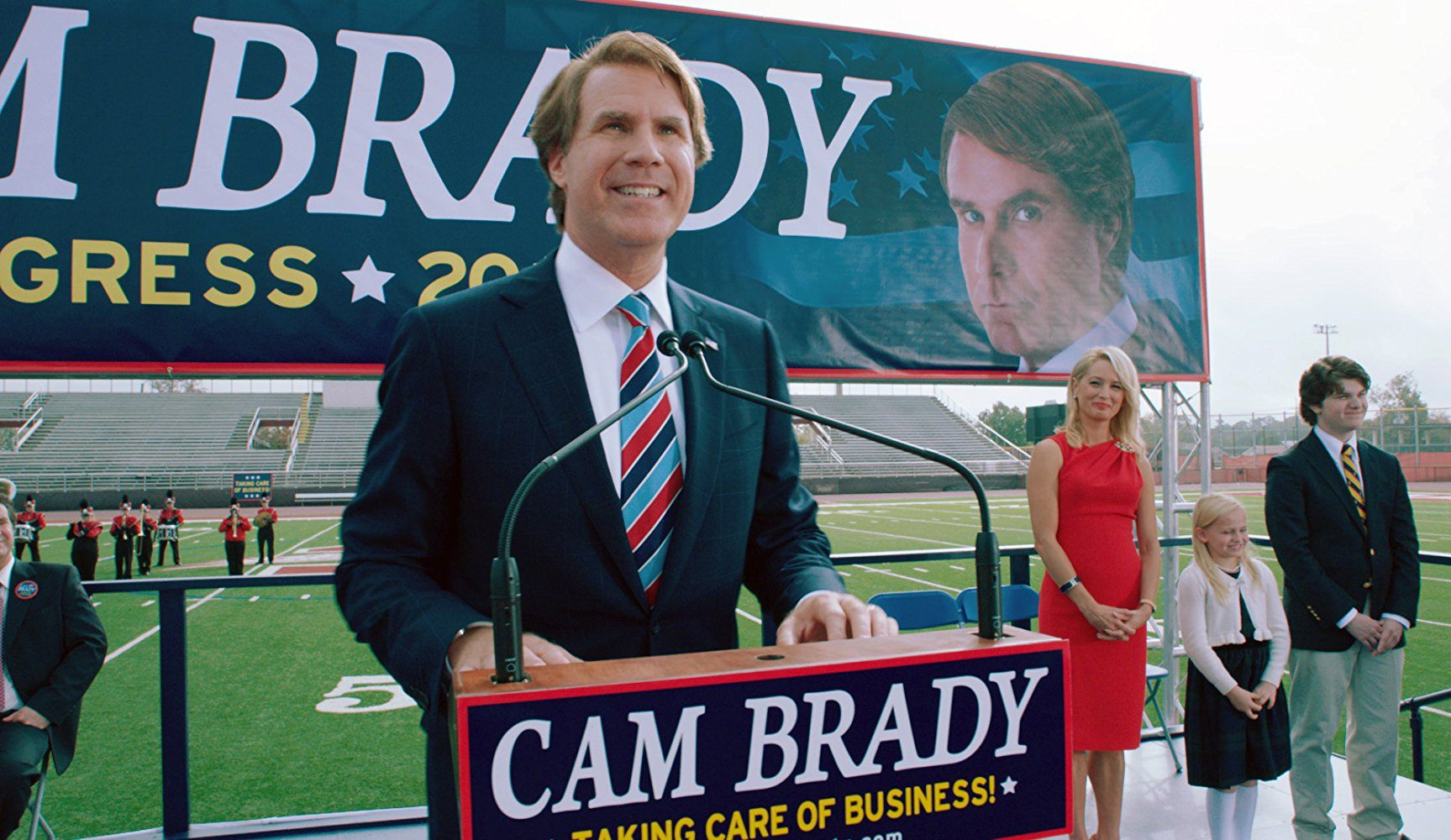 Will Ferrell as Cam Brady in The Campaign