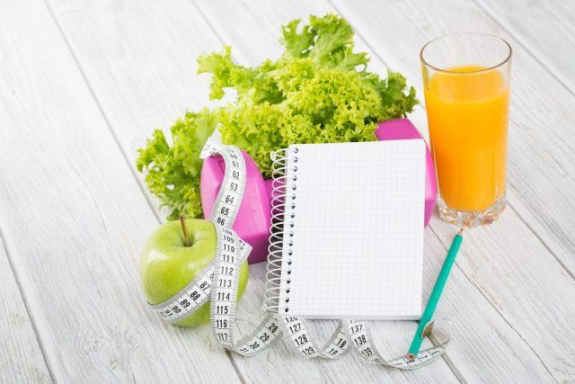 Workout and fitness dieting