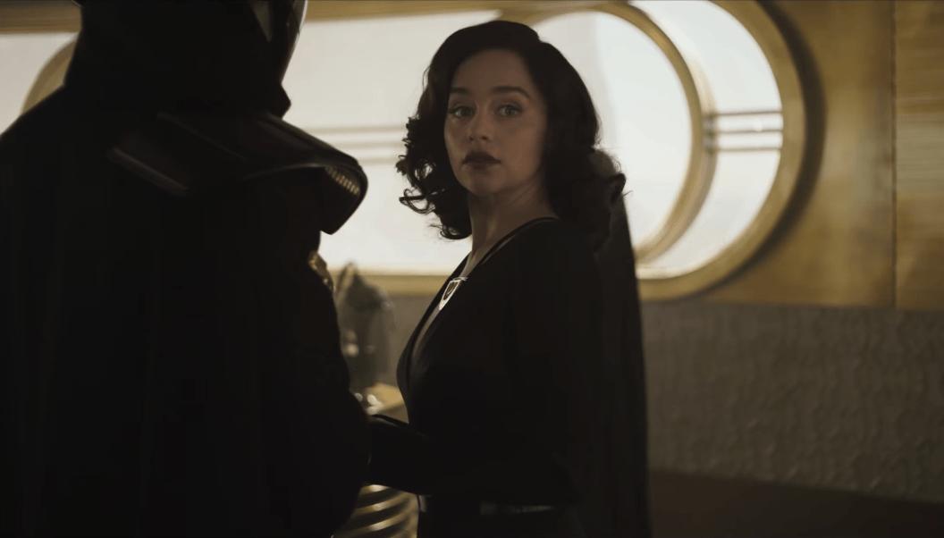 Emilia Clarke as Qi'ra