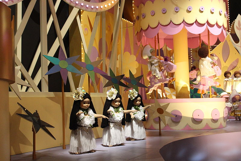 it's a small world doll