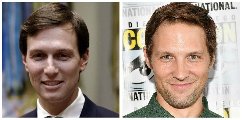A composite image of Jared Kushner and Michael Cassidy