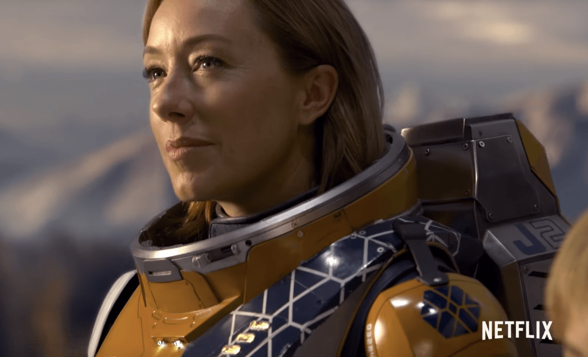 Molly Parker in Lost in Space