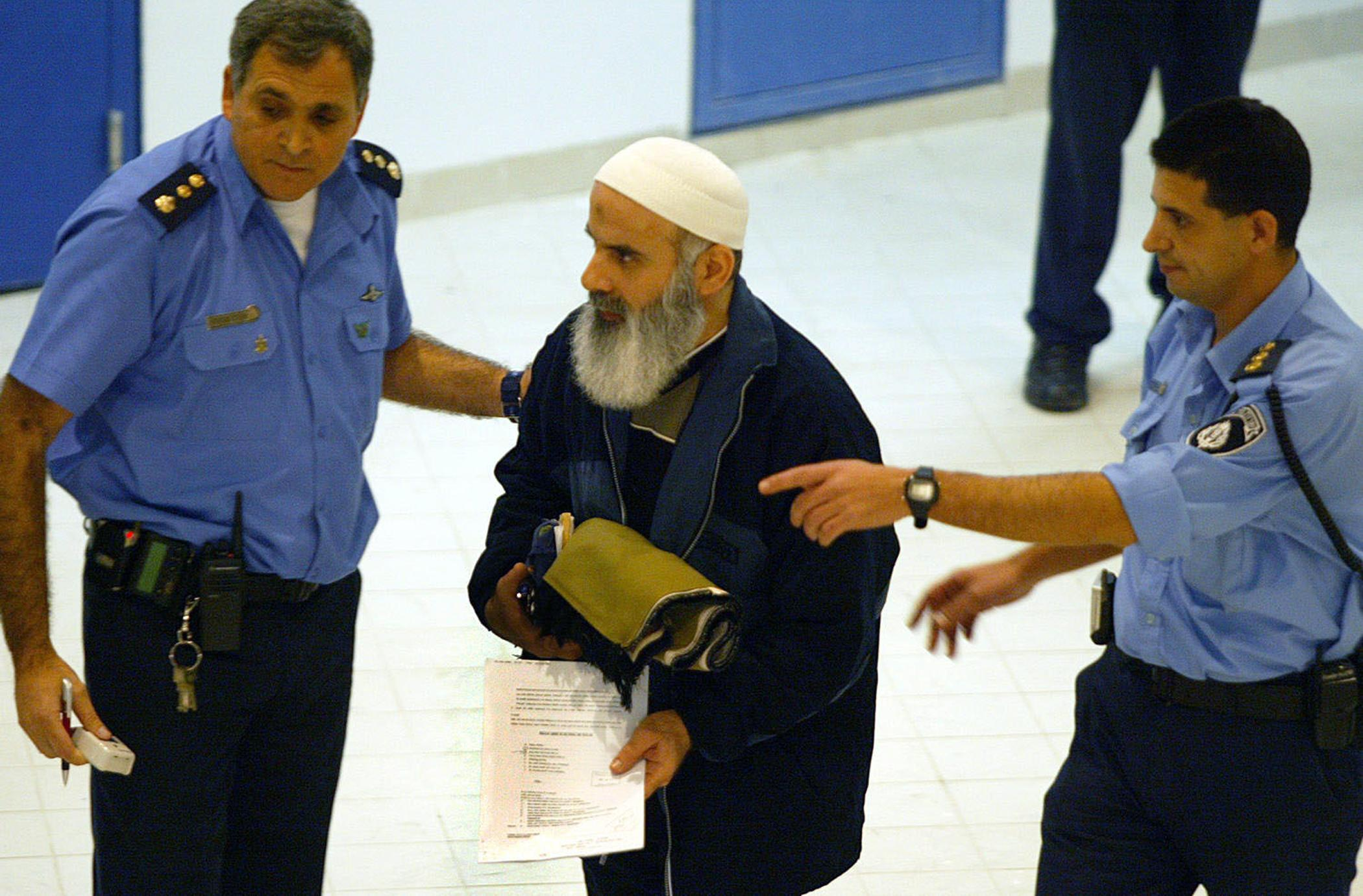 Airport security handling Muslim