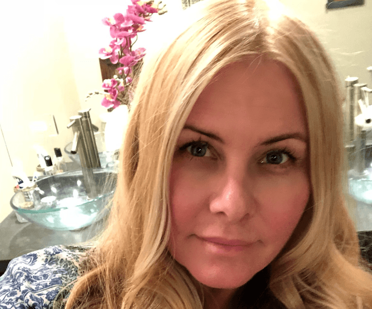 Nicole Eggert in Jan. 2018