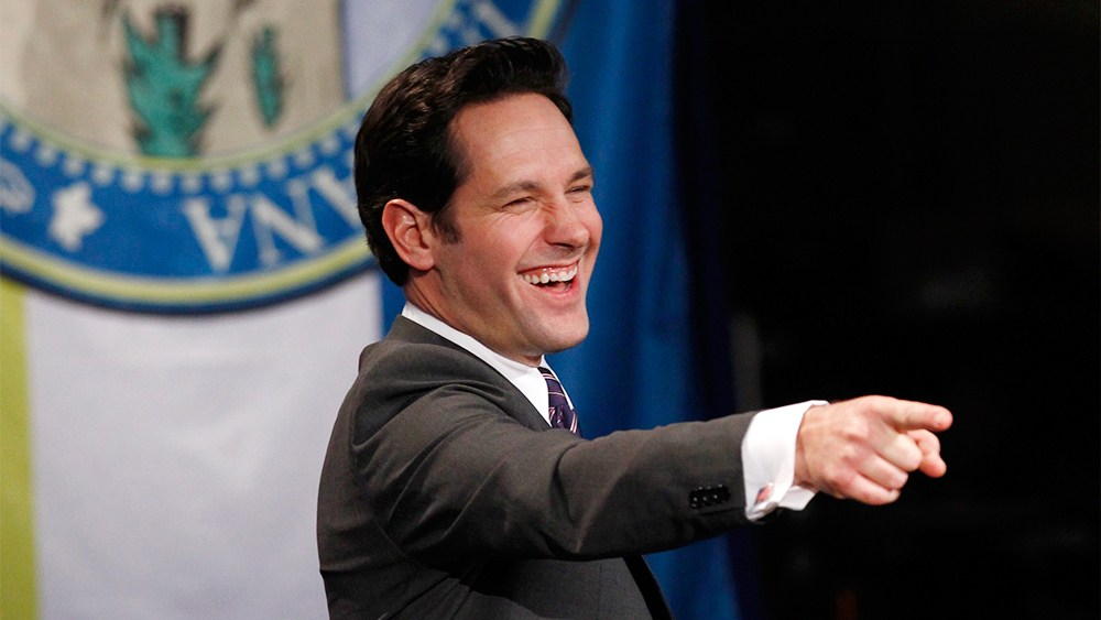 Paul Rudd as Bobby Newport on Parks and Recreation