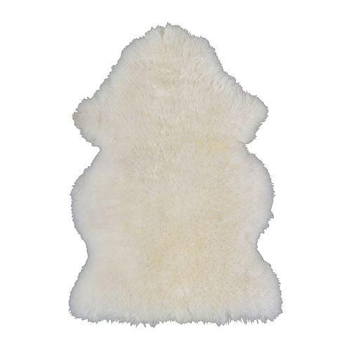 Ikea sheepskin rug