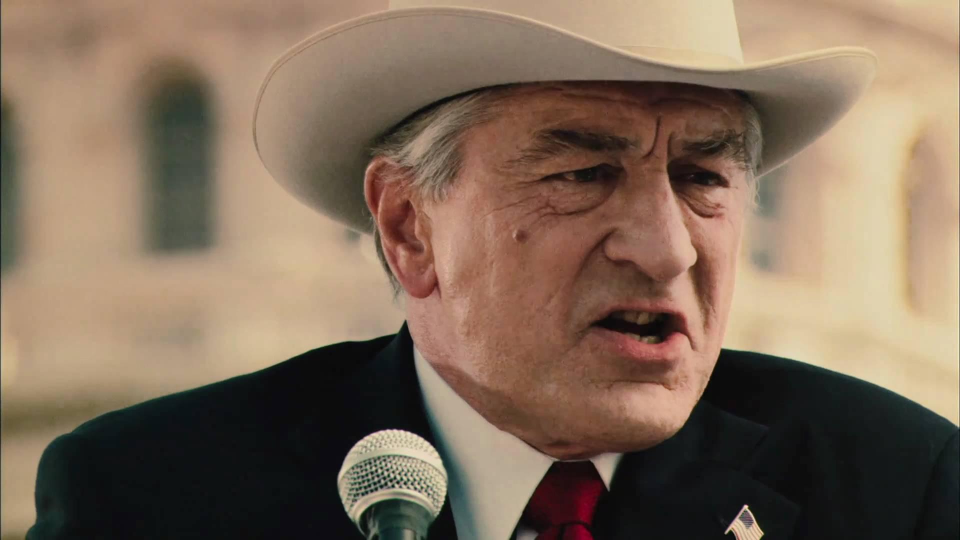 Robert De Niro as Senator McLaughlin in Machete