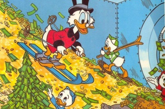 Imagine what the vault at Disney looks like.