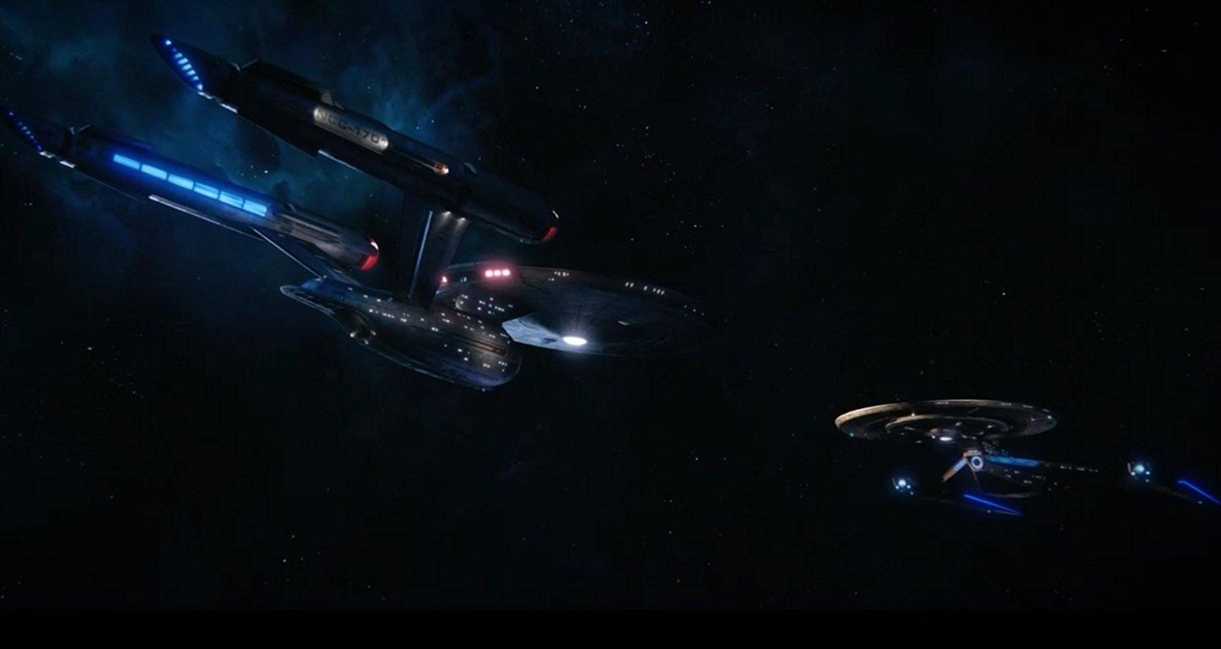 The USS Enterprise on Star Trek: Discovery
