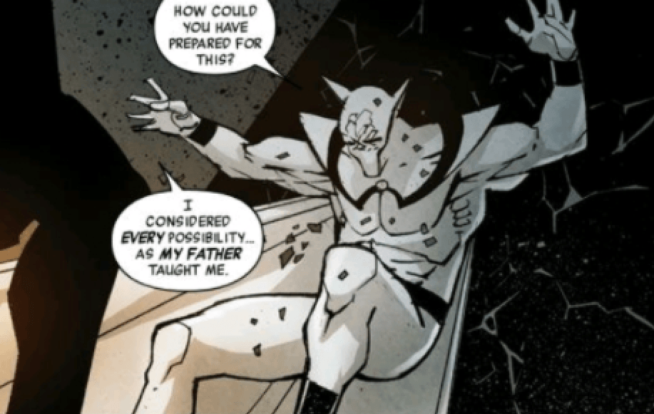 White Wolf is an antagonist in the comics