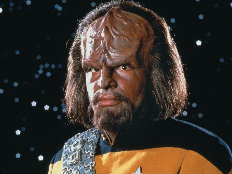 Worf in Star Trek: The Next Generation