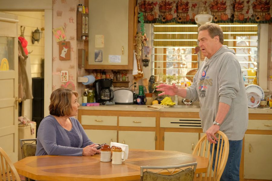 Dan and Roseanne