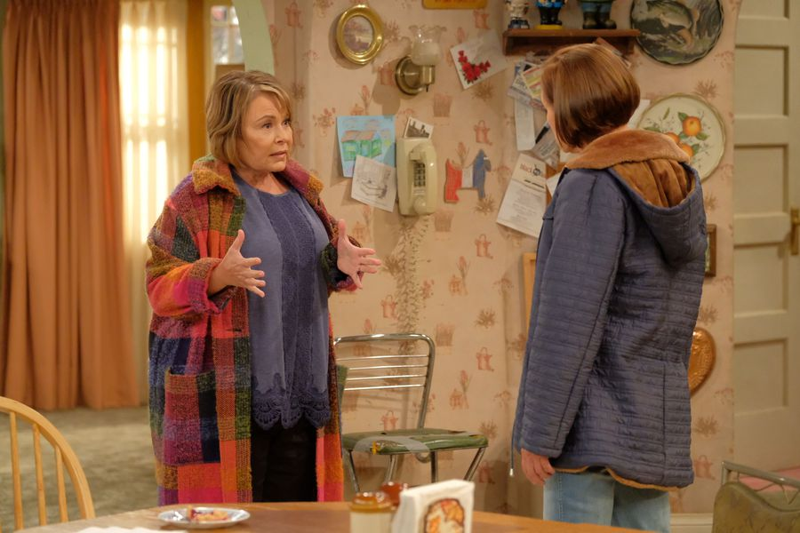 Jackie and Roseanne