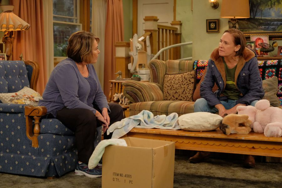 Jackie and Roseanne
