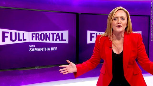 Samantha Bee on her show.