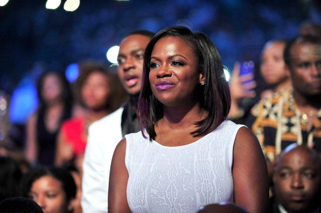 TV personality Kandi Burruss attends the 2014 Ford Neighborhood Awards