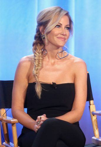 TV personality Stephanie Hollman speaks onstage during the 'The Real Housewives of Dallas' panel