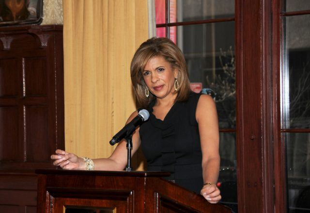 Hoda Kotb speaks at a special breakfast at the 21 Club