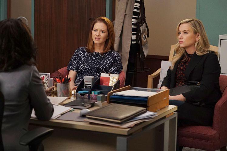 April and Arizona on Grey's Anatomy