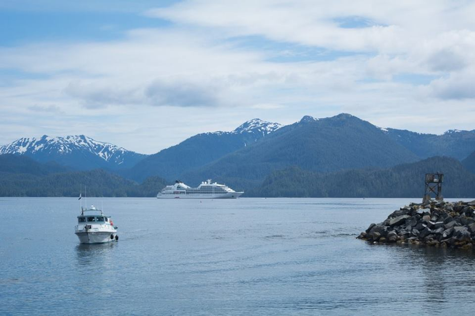 Alaska cruise seabourn