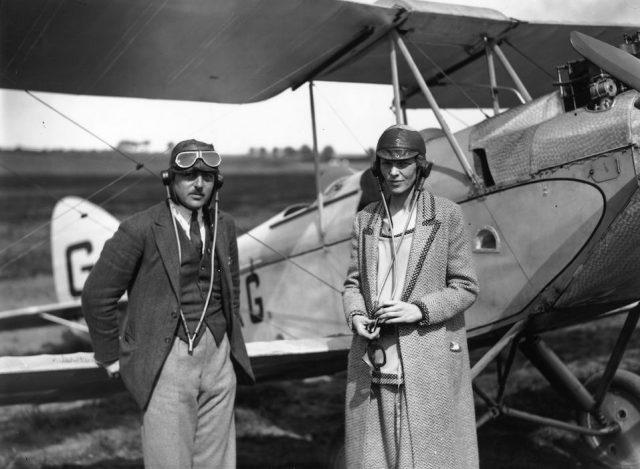 American aviator Amelia Earhart (1898 - 1937), noted for her flights across the Atlantic and Pacific oceans